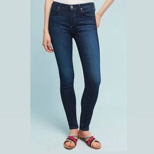 """AG """"The Abbey"""" Mid-Rise Super Skinny Jeans (28R)"""